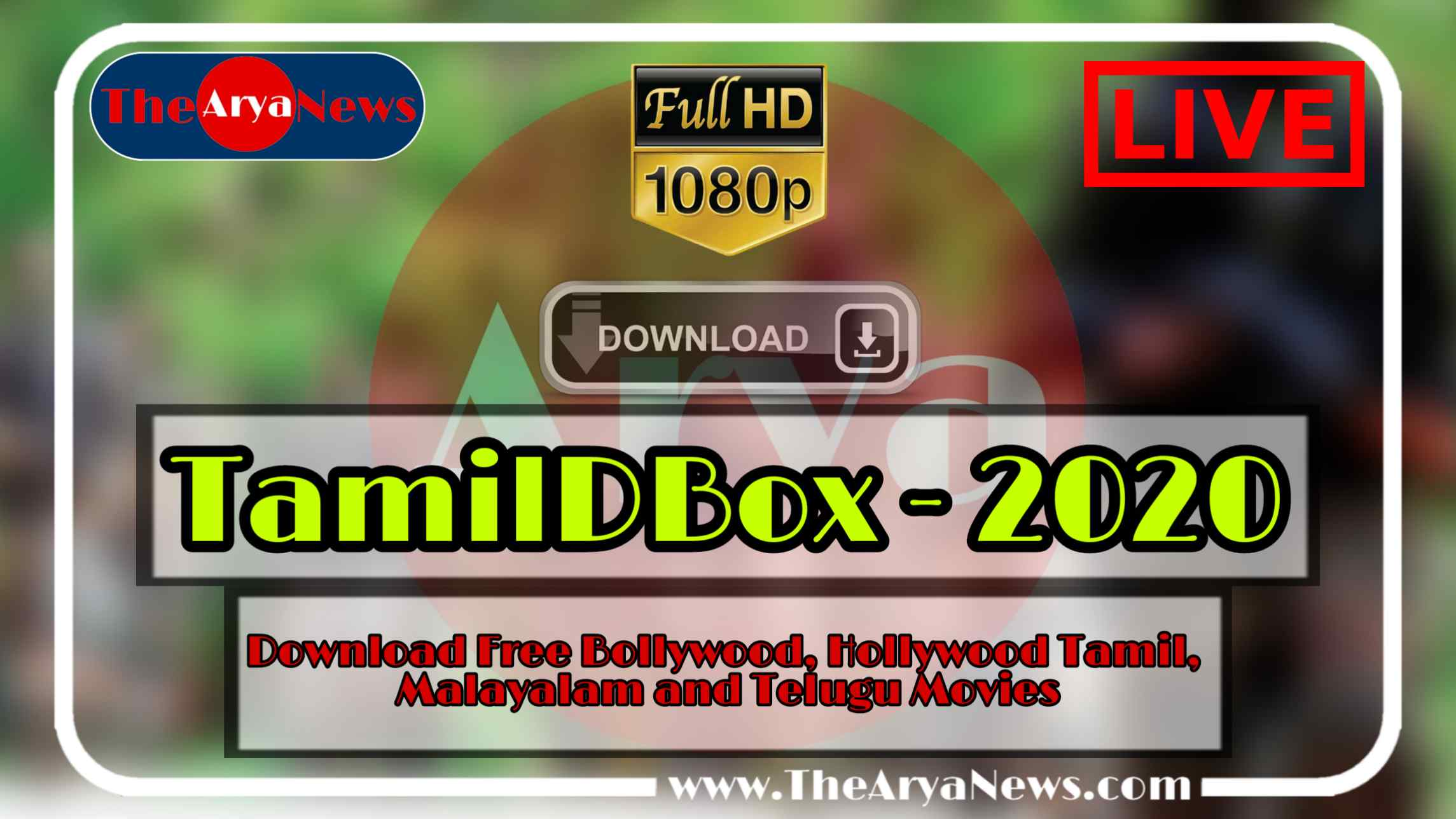 TamilDbox 2020 » Download Free Bollywood, Hollywood Dubbed Movies
