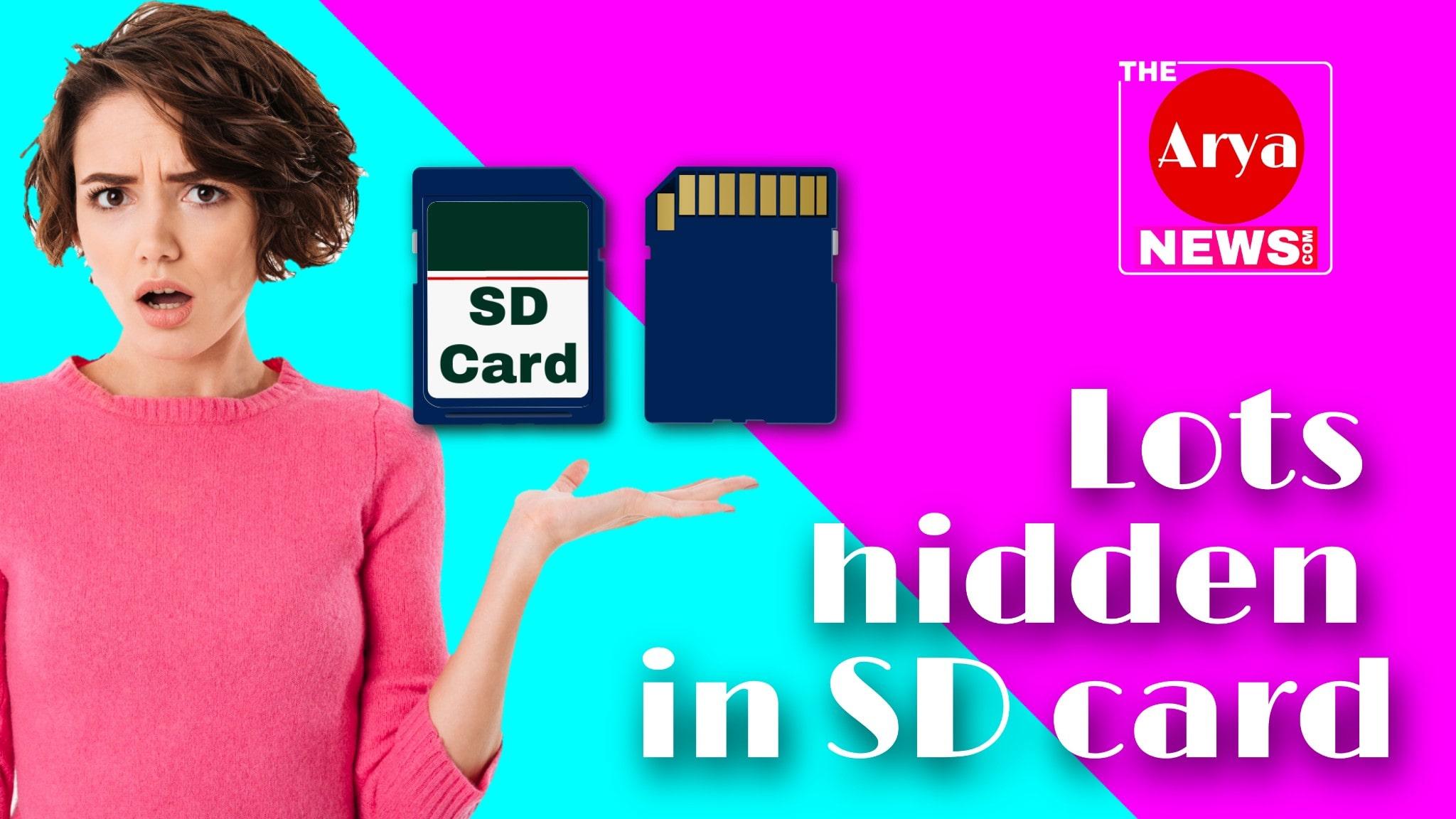 Lots hidden in SD card
