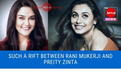 Such a rift between Rani Mukerji and Preity Zinta