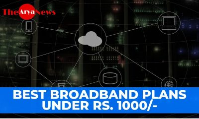 Best BroadBand Plans Under Rs. 1000/- Airtel, BSNL, ATC