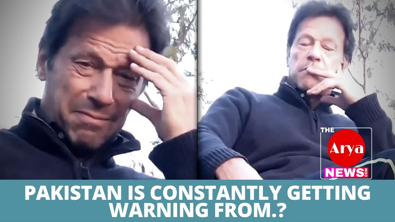 Pakistan is constantly getting warning