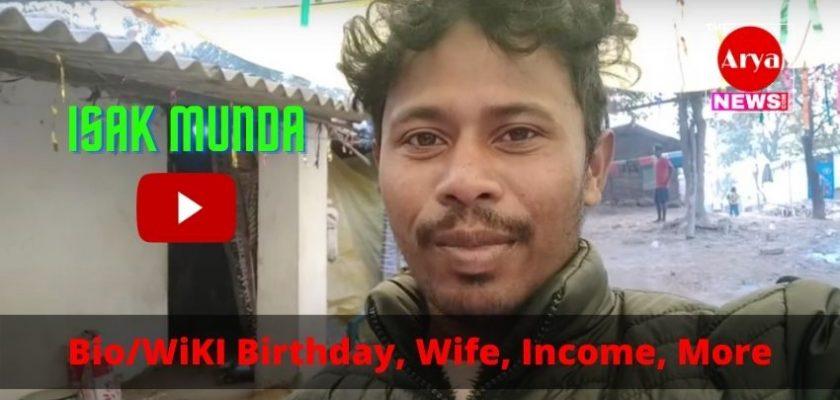 Isak Munda Biography Banner Image