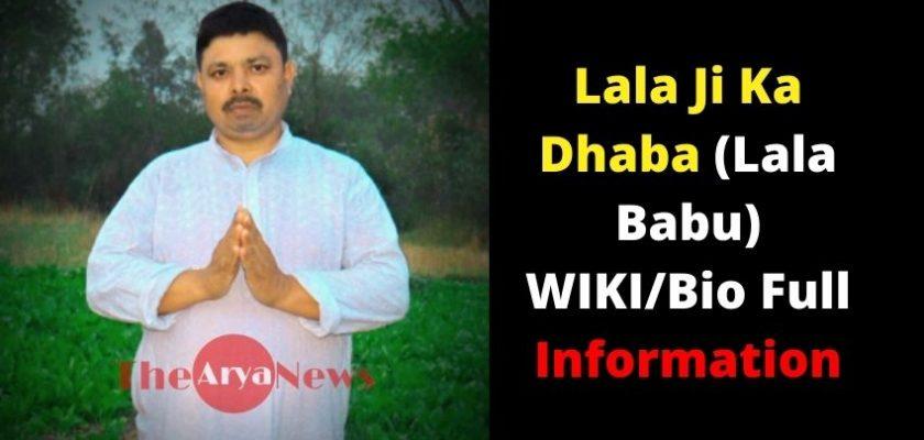 Lala Ji Ka Dhaba (Lala Babu)